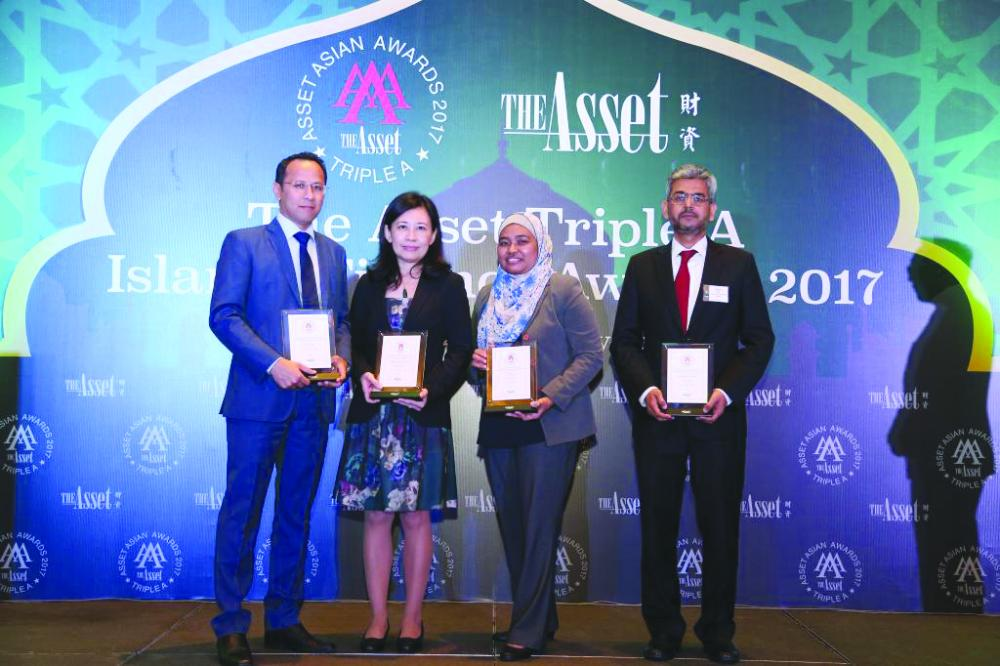 ICD was presented with two prestigious awards at the Asset Triple A Islamic Finance Awards ceremony in Kuala Lumpur, Malaysia on Wednesday. — Courtesy photo