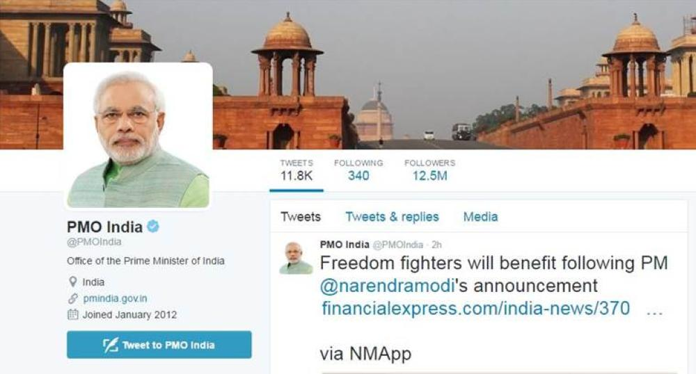 'Social Media' — the Indian success story/Twitter diplomacy