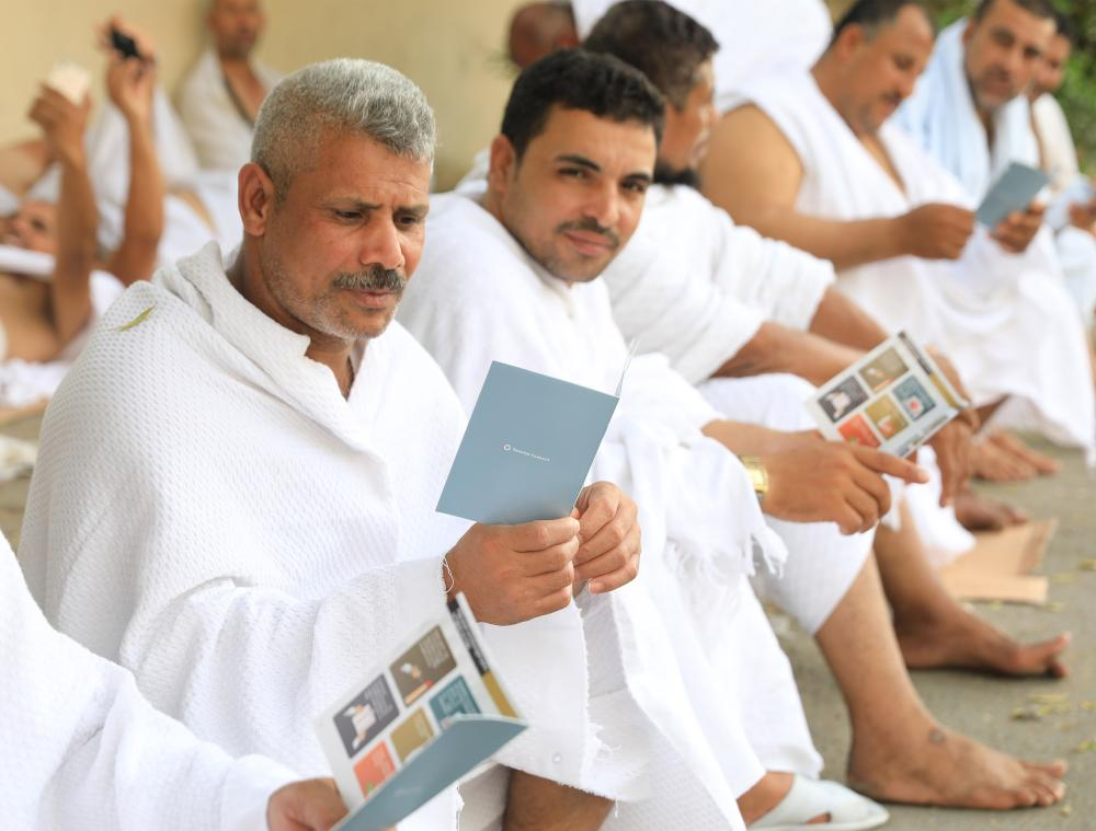 """Tawuniya has published and distributed its latest booklet """"Safe Haj"""", which includes health guidelines and tips for the Haj rituals. — Courtesy photo"""