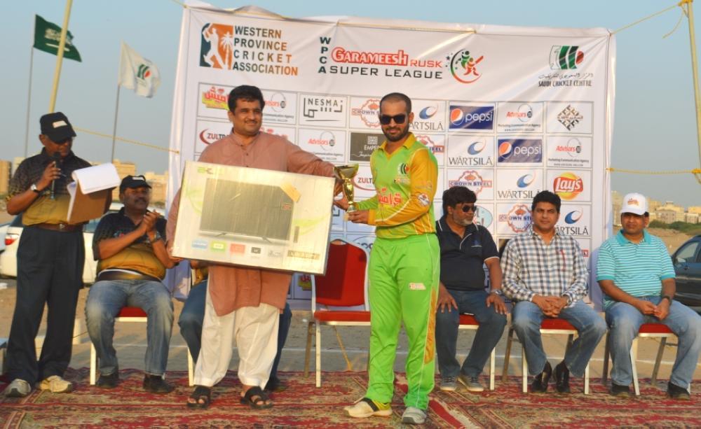 Usman Gulab — Best Batsman