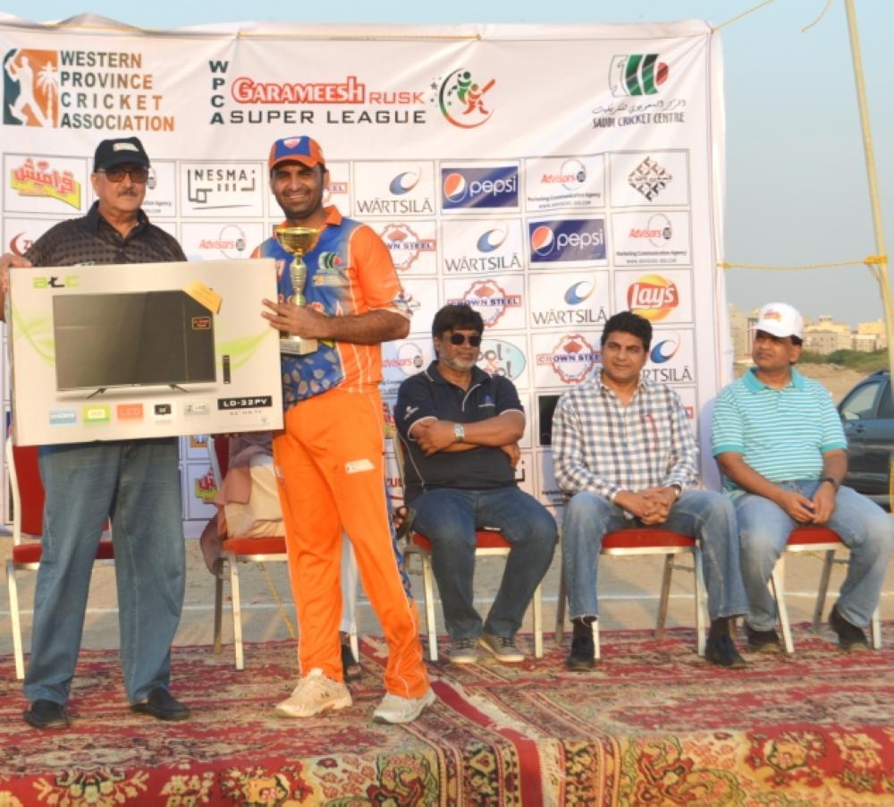 Moazzam Shoukat — Player of the Tournament