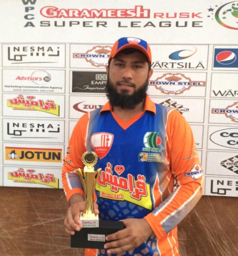 Abdulwaahid of Lothers … 103 runs