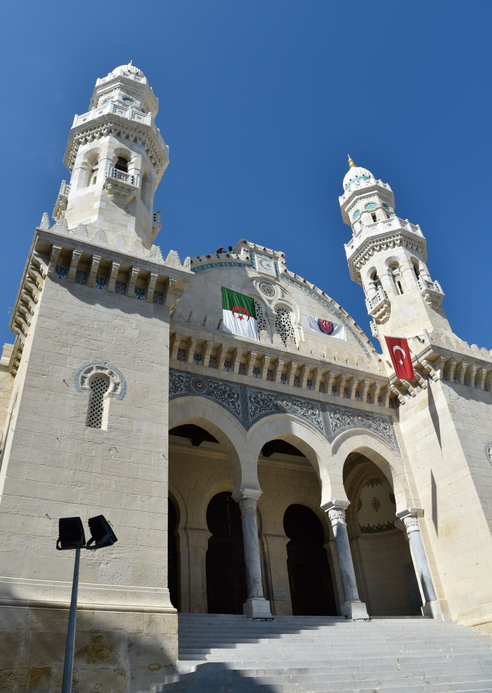 A general view shows part of the Ketchaoua mosque.