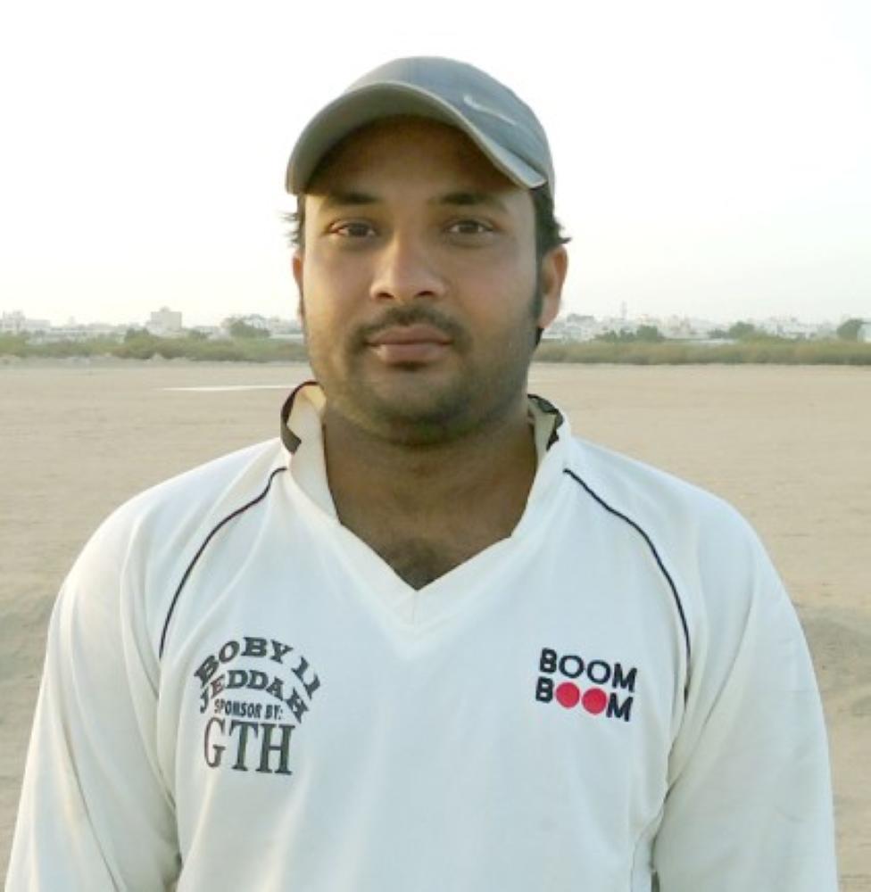 Shahbaz Rasheed ... unbeaten 101 runs