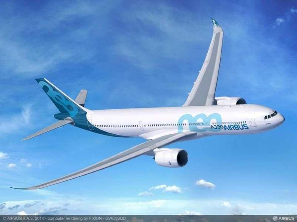 FIle photo of an Airbus-A330neo.