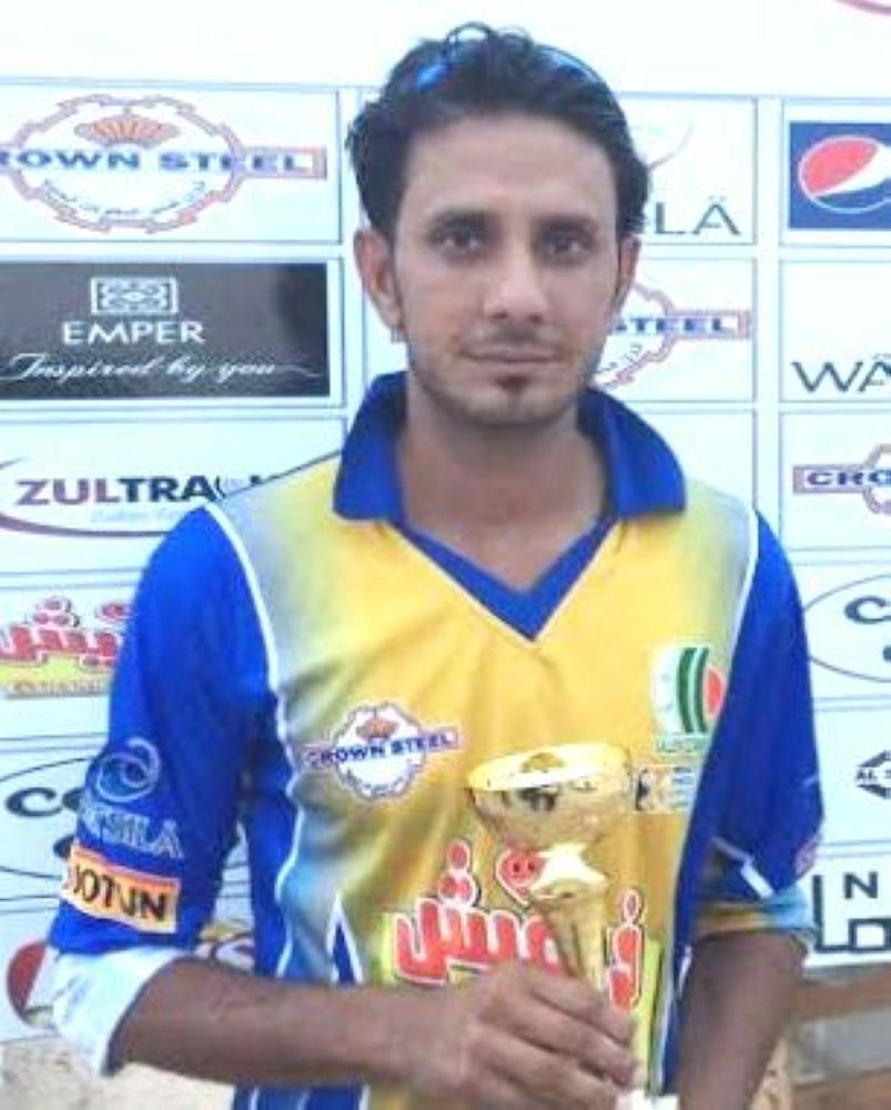 Imran Yusuf — 5 wickets