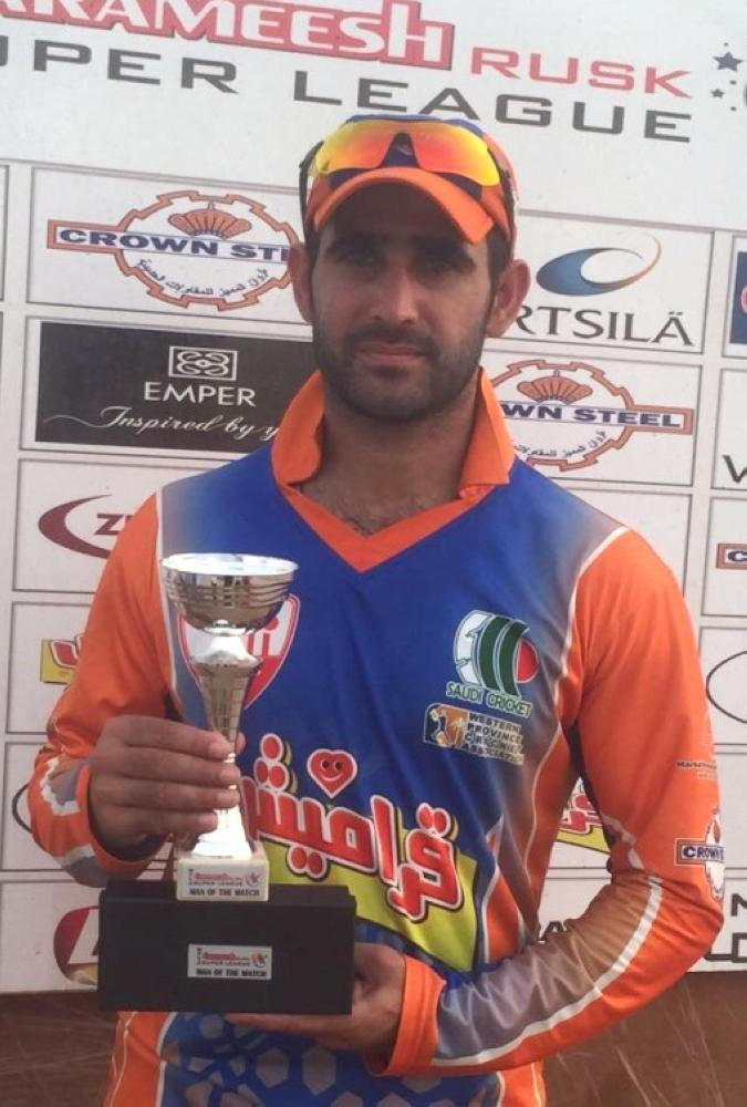 Ibrarul Haq — 71 runs