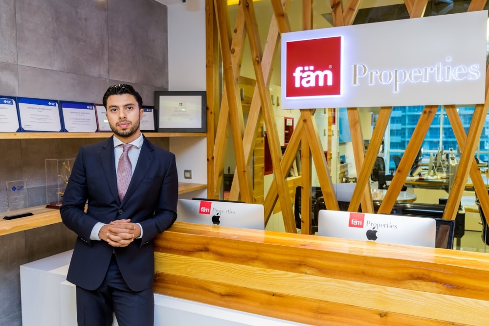 Firas Al Msaddi, CEO of fäm Properties
