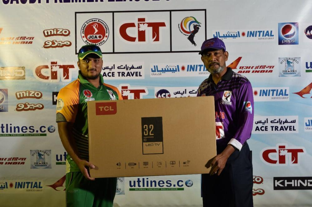 Best All Rounder ... Usman Butt of Ace Travel
