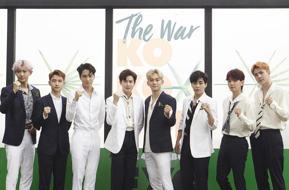 'We are delighted to be in the Middle East,' says Korean Supergroup EXO