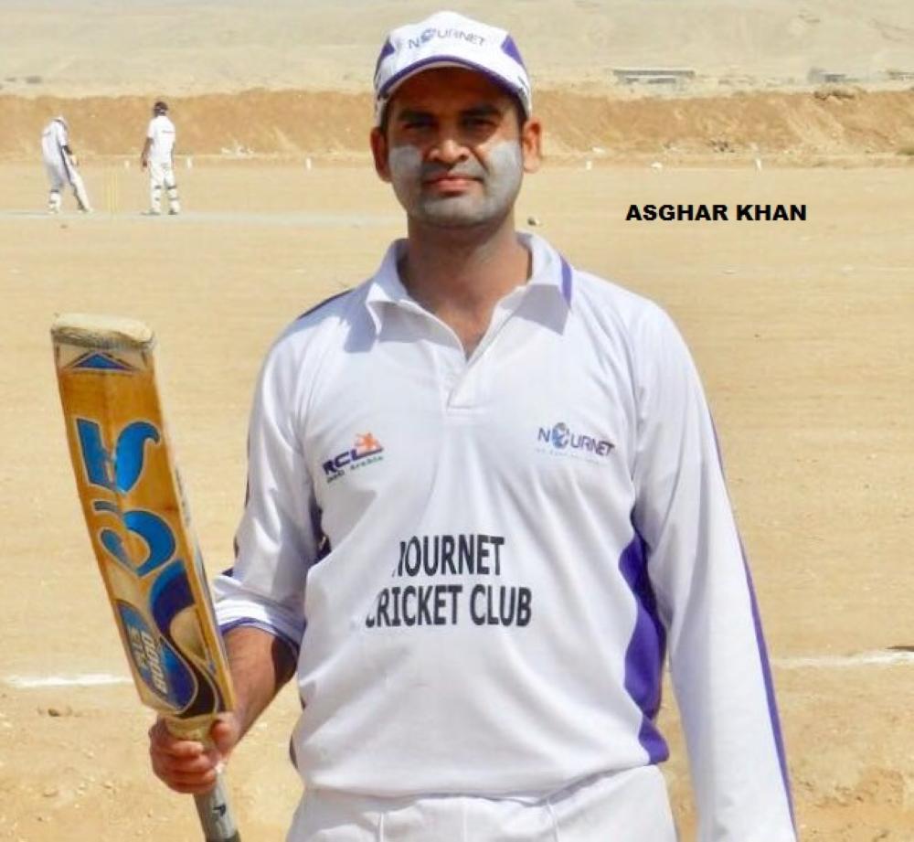 Asghar Khan — 105 in 54 balls