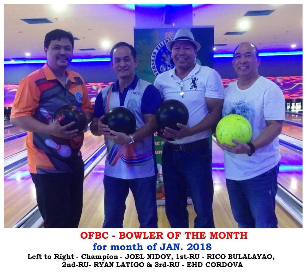 Men's division winners (from L) Joel Nidoy, Rico Bulalayao, Ryan Latigo and Ed Cordova