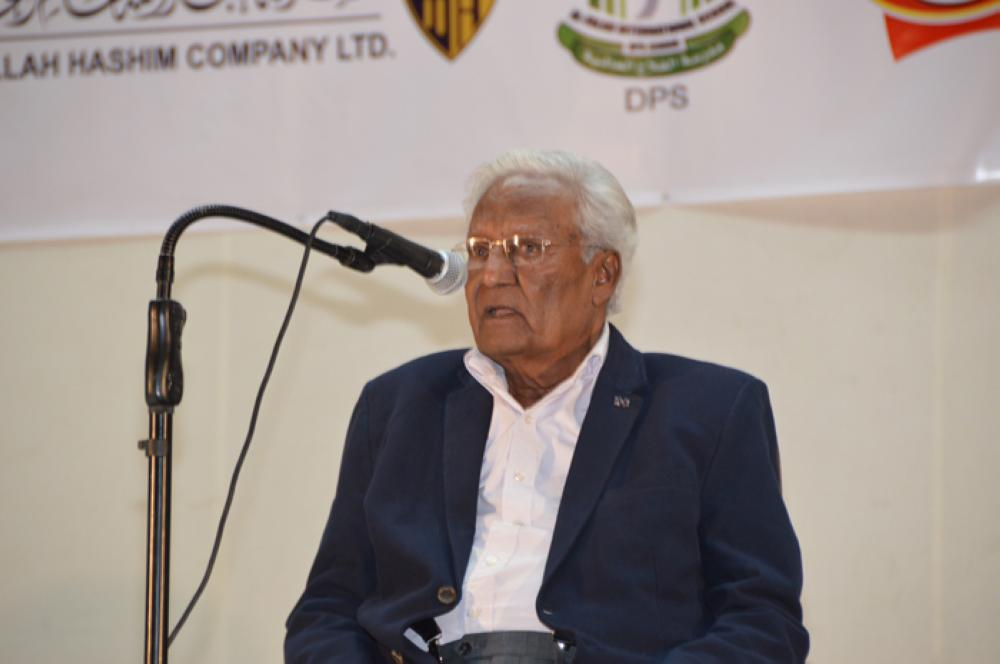 Prof./Dr. Muzaffar Hanafi – SG Photo by Abdul Rahman M. Baig