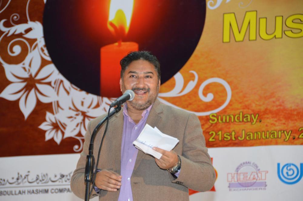 Dr. Liyaqat  Jaferi – SG Photo by Abdul Rahman M. Baig