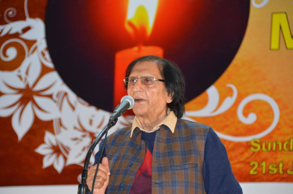 Prof./Dr. Waseem Barelvi  – SG Photo by Abdul Rahman M. Baig