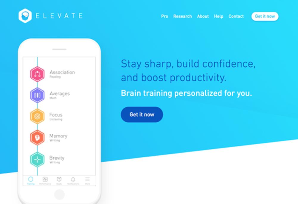 Would you train your brain with Elevate?