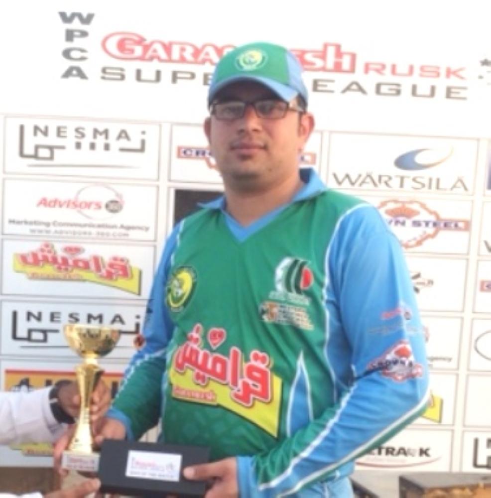 Waqas Riaz — 80 runs