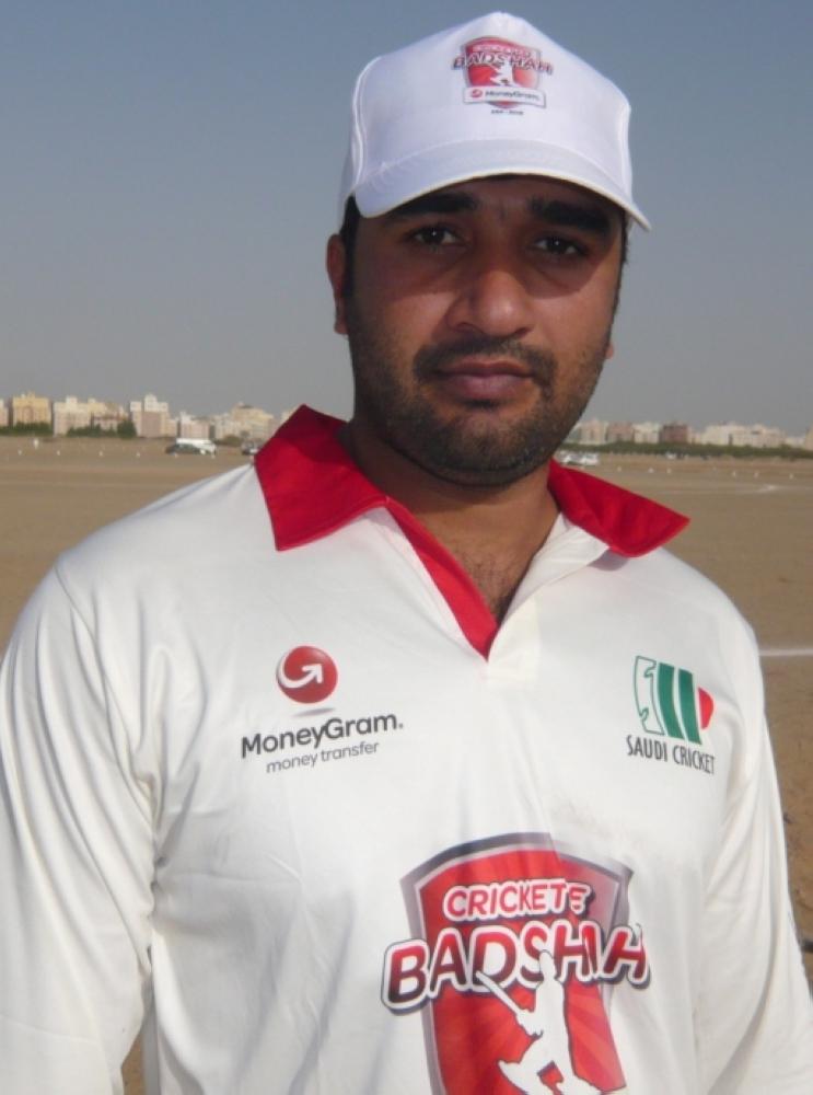 Khurram Azeez — 78 runs