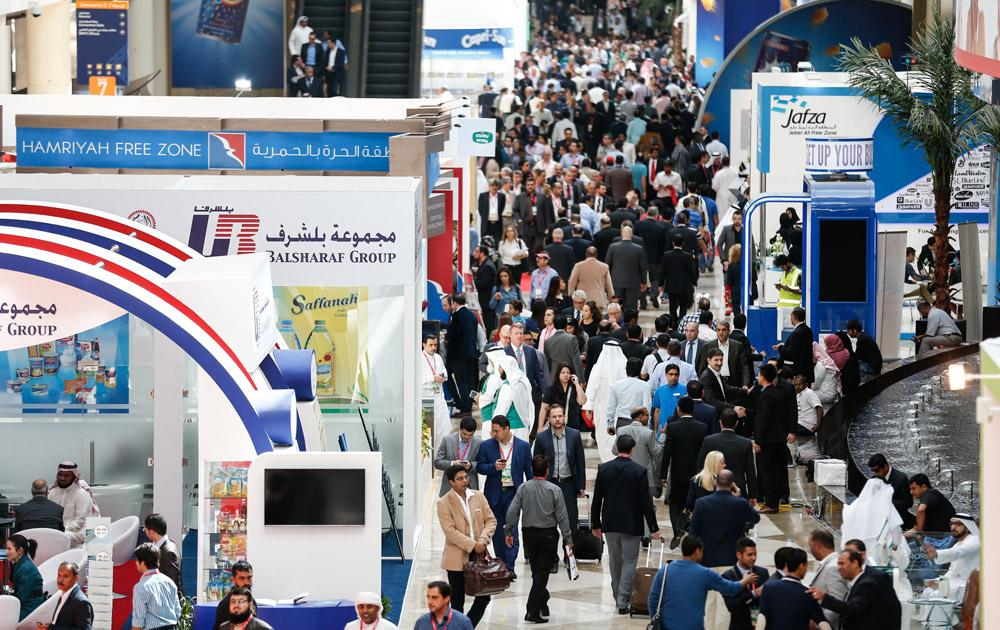 Gulfood the world's largest annual food and beverage trade event seen in this file photo.