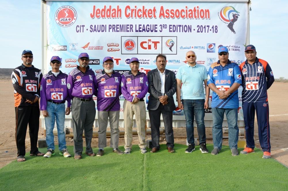 The Title Sponsors Representative with JCA Executive Committee Members