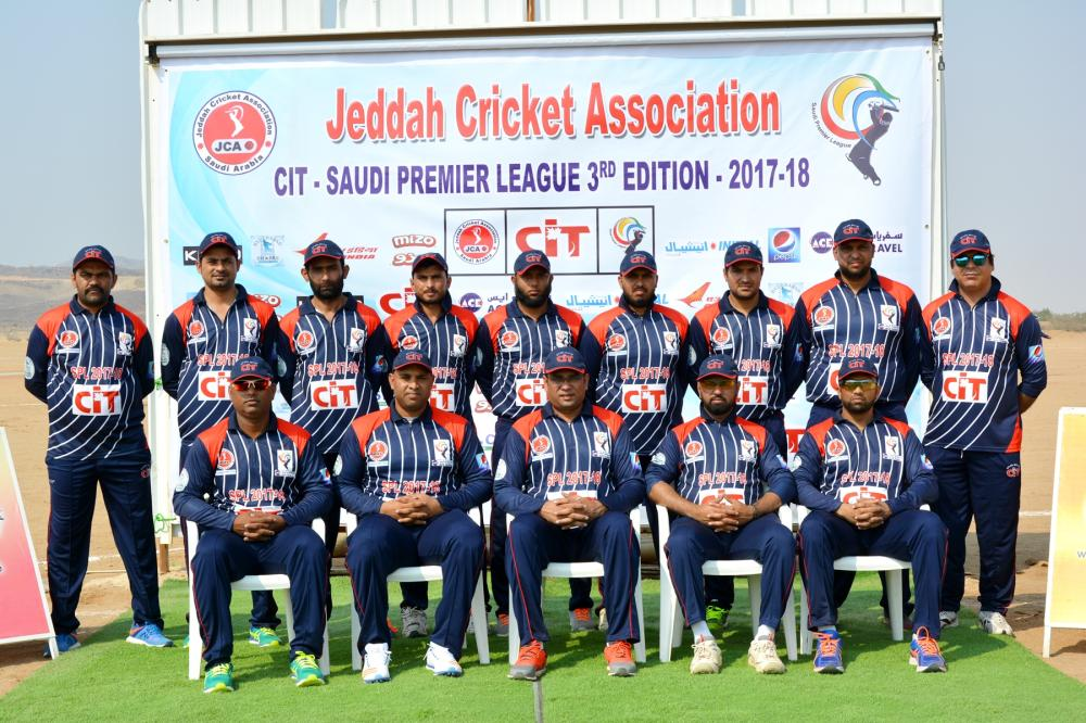 Pepsi Deccan Knights Team Group Photo