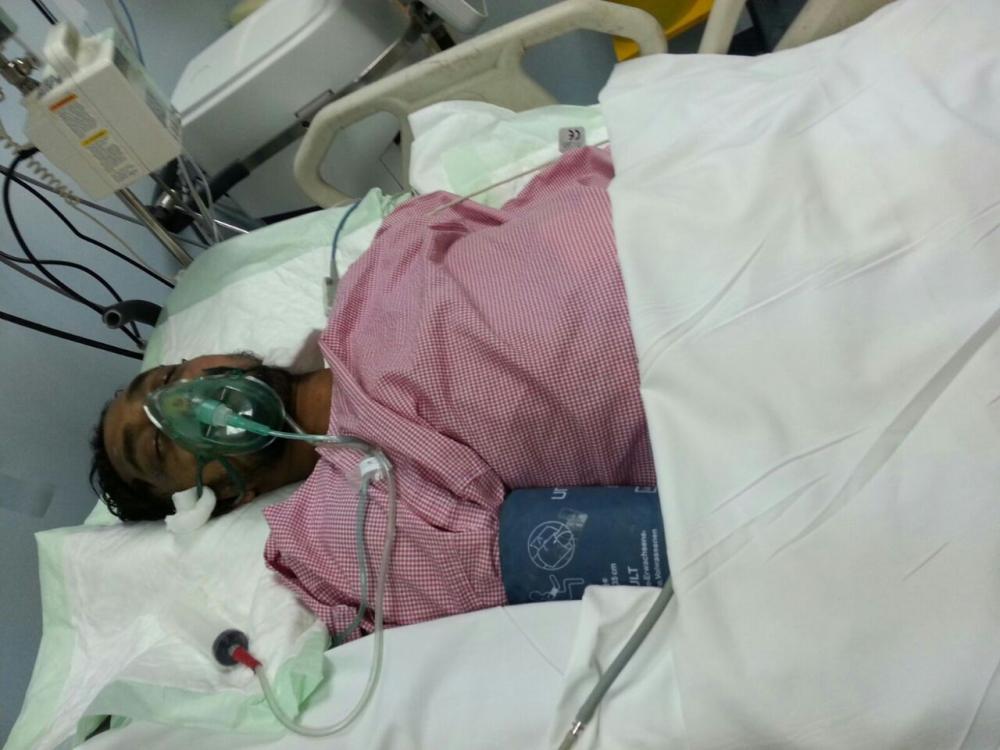 Shaikh Arif in a coma at King Abdulaziz Hospital in Taif.
