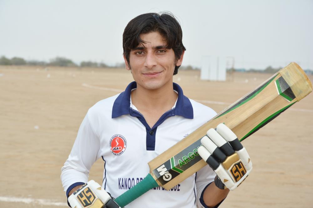 Atta Khan — 59 runs and 5 for 40