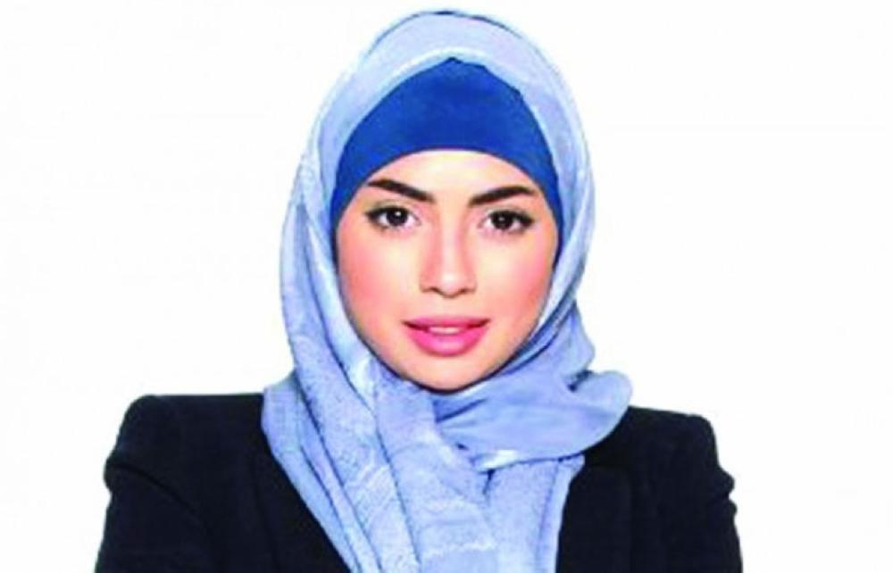 Saudi actress Darin Al Bayed