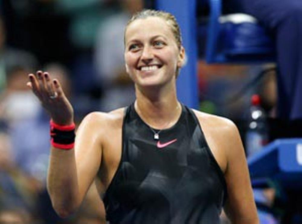 Double Wimbledon champion Petra Kvitova breezes through her Qatar Open first-round match on Tuesday. — AP