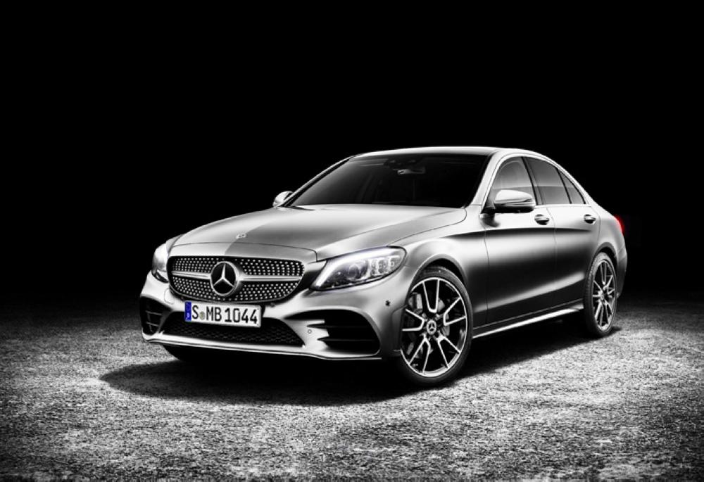 The new Mercedes-Benz C-Class sedan