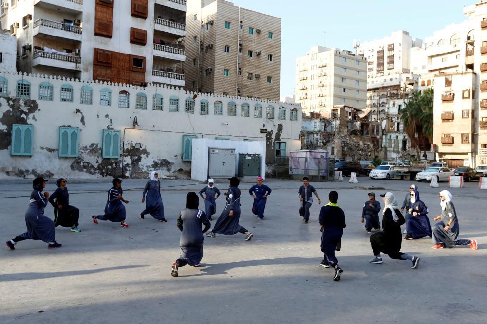 Saudi women celebrate Women'
