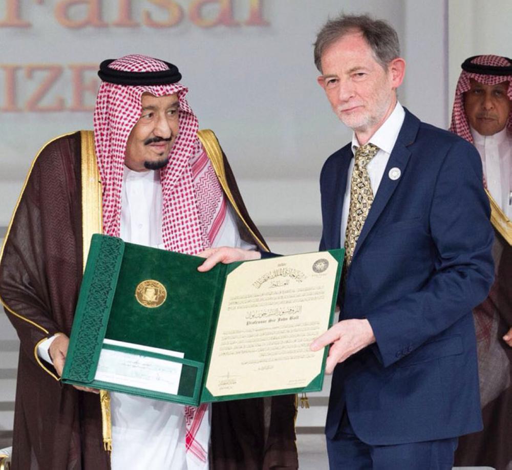 King Salman honors winners of King Faisal Prize