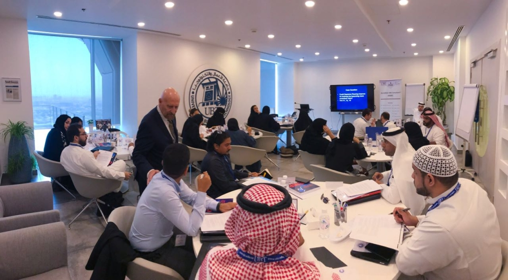 Monsha'at partnered with the University of Business and Technology  in Jeddah to certify Accredited Small and Medium Enterprise Consultants in line with Vision 2030