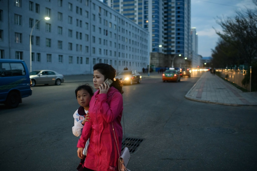 In Pyongyang, there is enough electricity to keep streetlights on at night, said South Korean journalists who visited this month. Everyone seemed to carry a cellphone, and women were more fashionably dressed than before, they said. — AFP