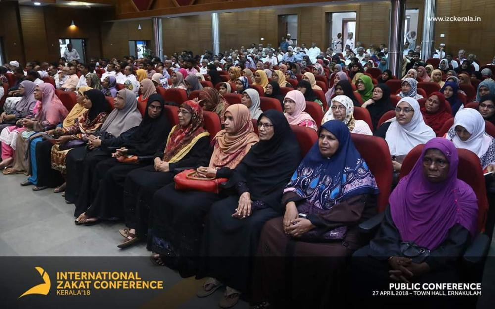Audience at the international Zakat conference in Kochi, Kerala.