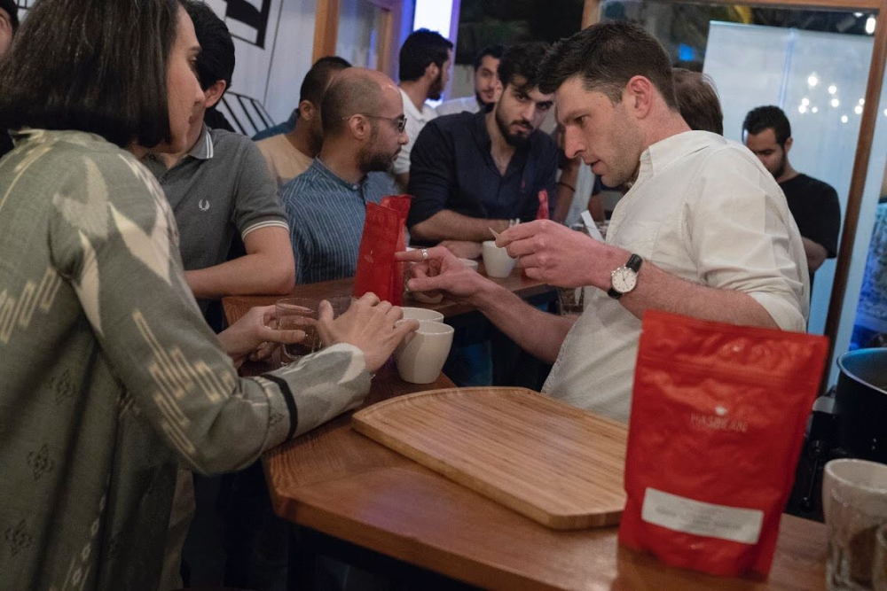 How to become a world Barista champion takes place in Saudi Arabia
