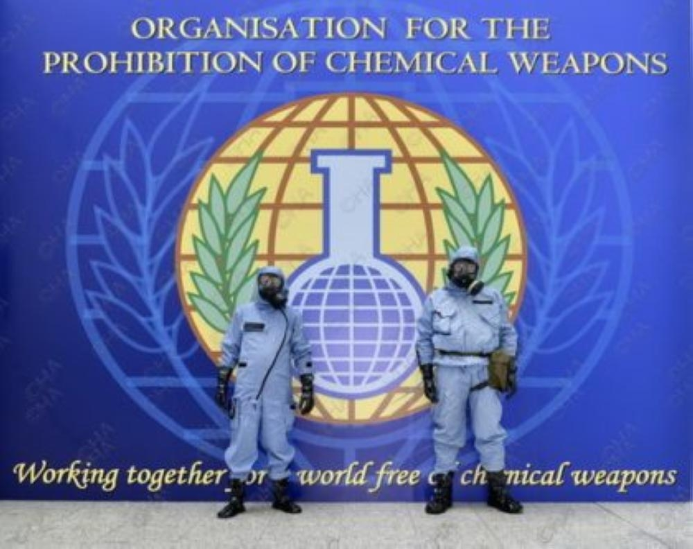A fact-finding mission by the Organization for the Prohibition of Chemical Weapons (OPCW) determined that