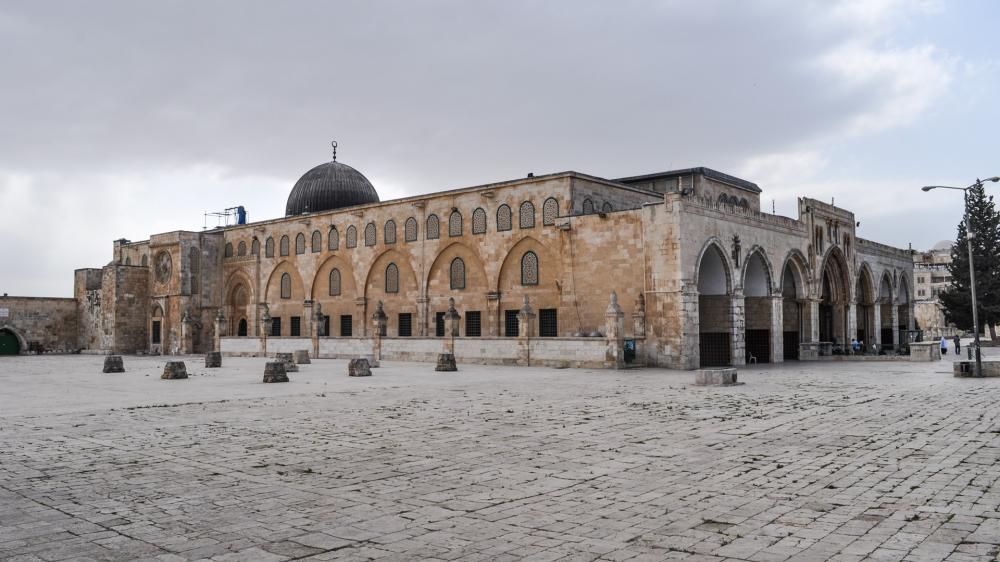 In a highly provocative act, a picture was handed over to US Ambassador to Israel David Friedman in which Islam's third holiest site — the revered Al-Aqsa Mosque (picture here) — was erased and replaced by a simulation of a Jewish temple.