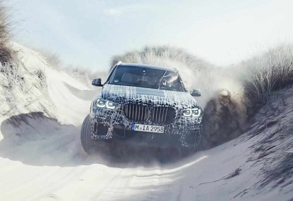 New BMW X5 being put through its paces from polar circle down to South Africa