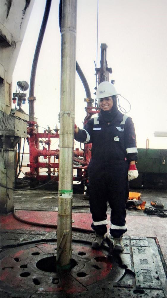 Saudi woman engineerbreaks new barriers