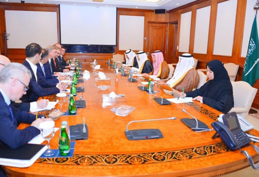 Al-Jubeir receives US Senior Policy Advisor Hook