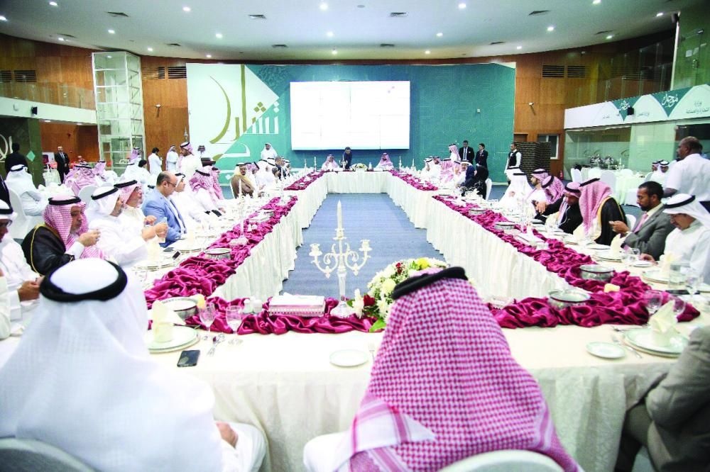 A ceremony at the  Jeddah Chamber of Commerce and Industry held on Monday evening to celebrate the election of the chairman of the Council of Saudi Chambers and his two deputies. The function was attended by a great number of Chamber officials