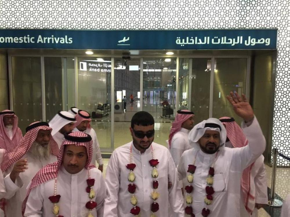 Since the incident, Hossam Al-Harby has been in and out of hospitals in Saudi Arabia and Spain, and just recently arrived back in the Kingdom. — Courtesy photos
