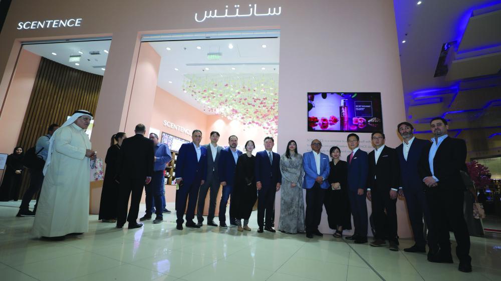 Inaugural of Korean cosmetics brand Scentence in Al-Nakheel Mall, Riyadh