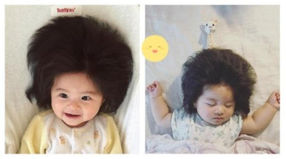 Japanese Baby S Full Head Of Hair Goes Viral On Instagram