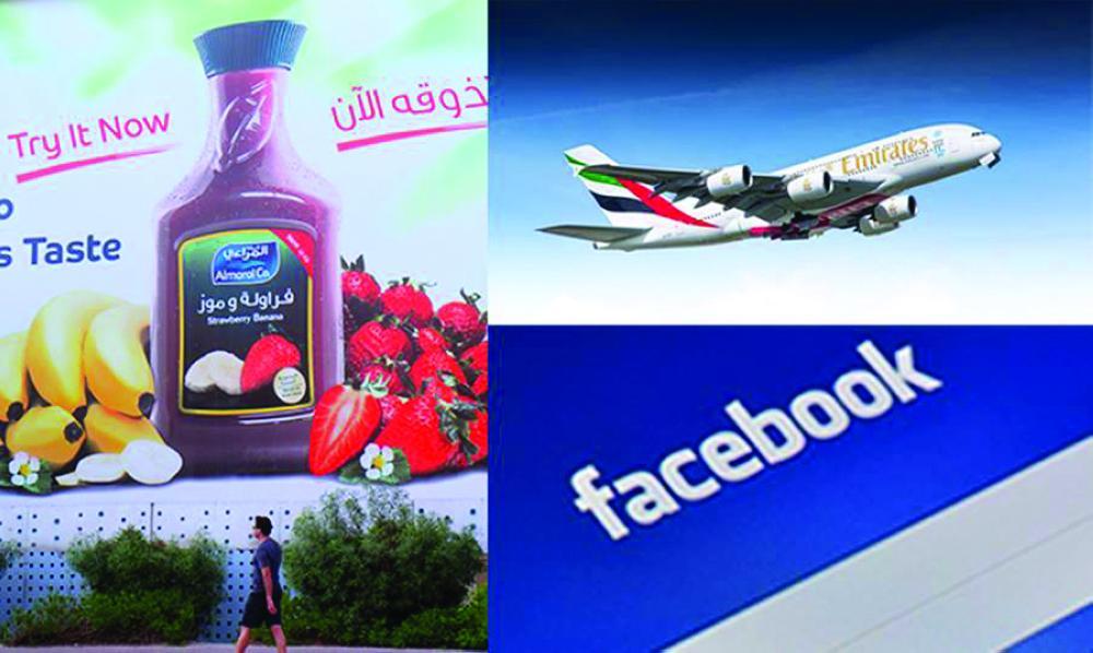 Emirates, Almarai, Facebook most positively perceived brands in MENA