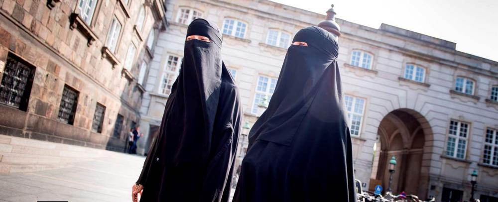 A law banning the wearing of face coverings in public in Denmark took effect Wednesday.