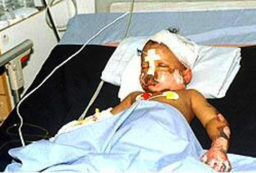 Mohammad Al-Fateh Othman recovering in hospital after he was found at the crash site.