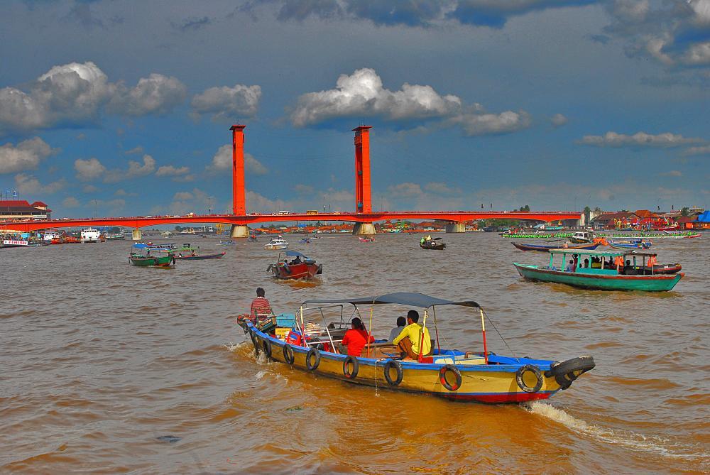 Ampera Bridge – Musi River