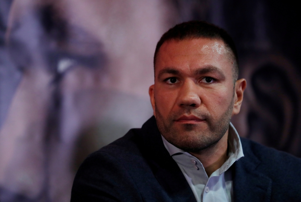 File photo shows Kubrat Pulev in Cardiff, Britain . — Reuters